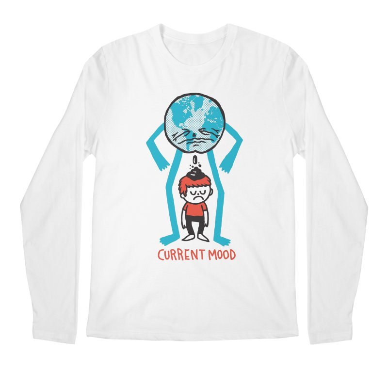 Current Mood Men's Longsleeve T-Shirt by msieben's Shop