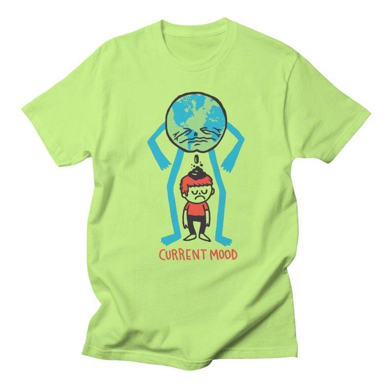 Current Mood Men's Regular T-Shirt by msieben's Shop