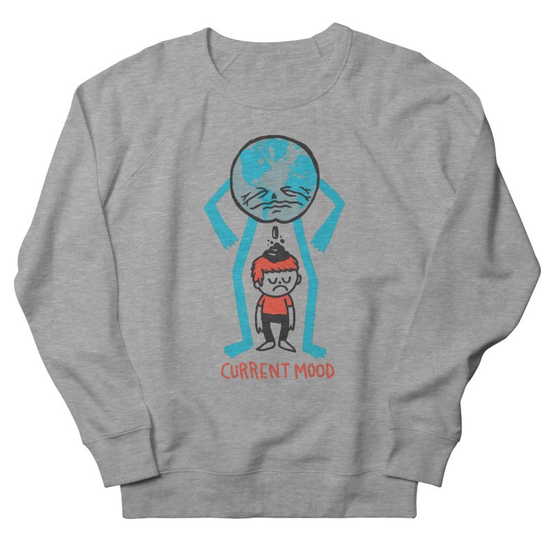 Current Mood Men's French Terry Sweatshirt by msieben's Shop