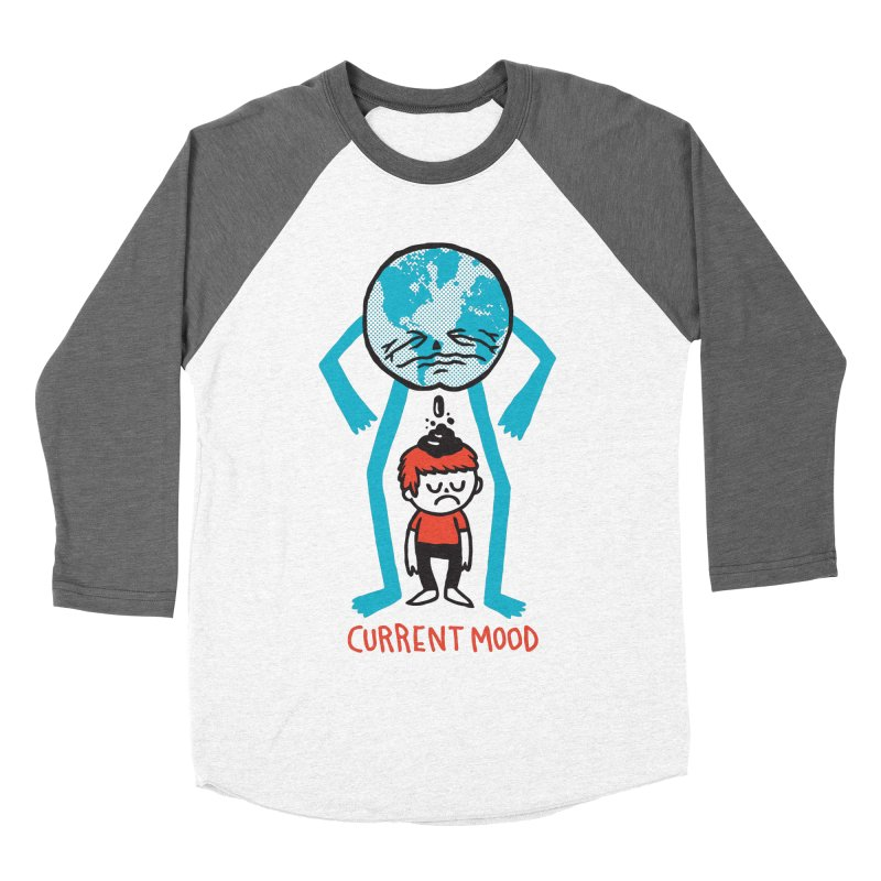 Current Mood Women's Baseball Triblend Longsleeve T-Shirt by msieben's Shop