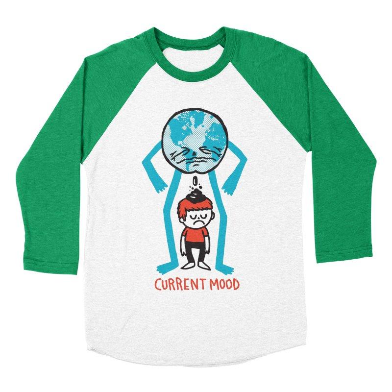 Current Mood Men's Baseball Triblend T-Shirt by msieben's Shop
