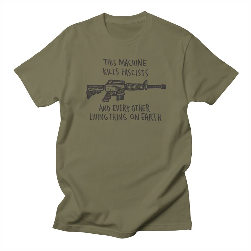 This Machine in Men's T-Shirt Olive by msieben's Shop