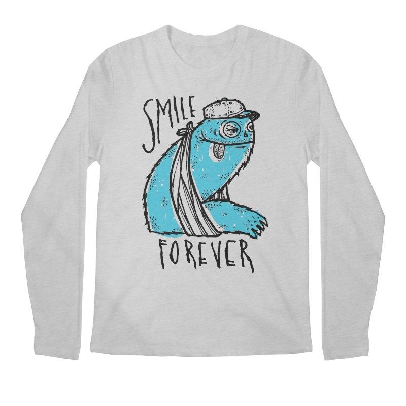 Smile Forever Men's Longsleeve T-Shirt by msieben's Shop