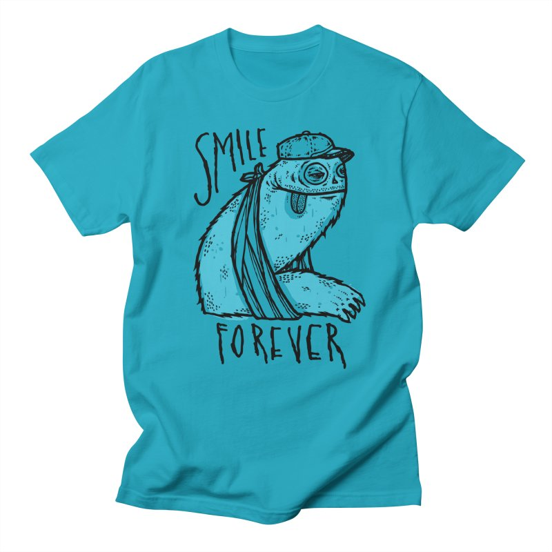 Smile Forever Men's T-Shirt by msieben's Shop