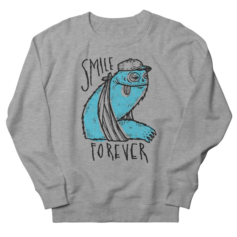 Smile Forever Men's Sweatshirt by msieben's Shop