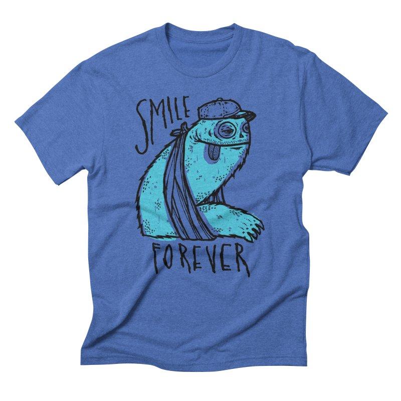Smile Forever Men's Triblend T-Shirt by msieben's Shop