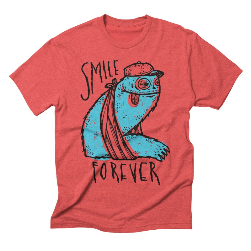 Smile Forever Men's Triblend T-shirt by msieben's Shop