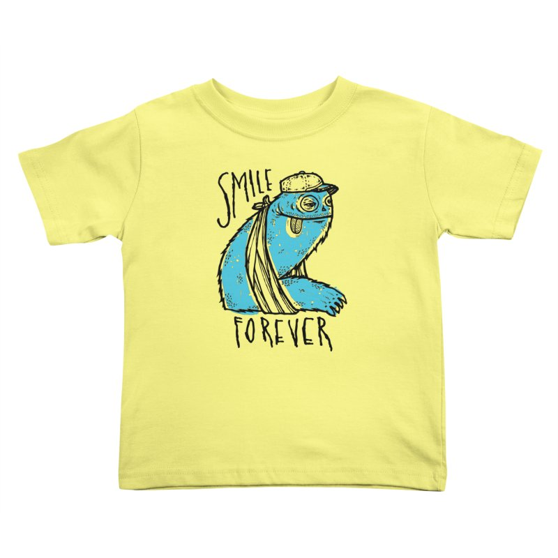 Smile Forever Kids Toddler T-Shirt by msieben's Shop