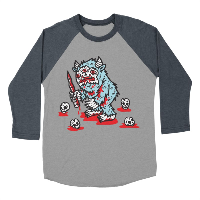 Get Ready For The Yeti Men's Baseball Triblend T-Shirt by msieben's Shop