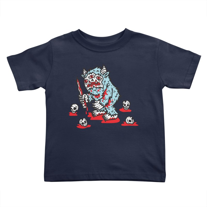 Get Ready For The Yeti Kids Toddler T-Shirt by msieben's Shop
