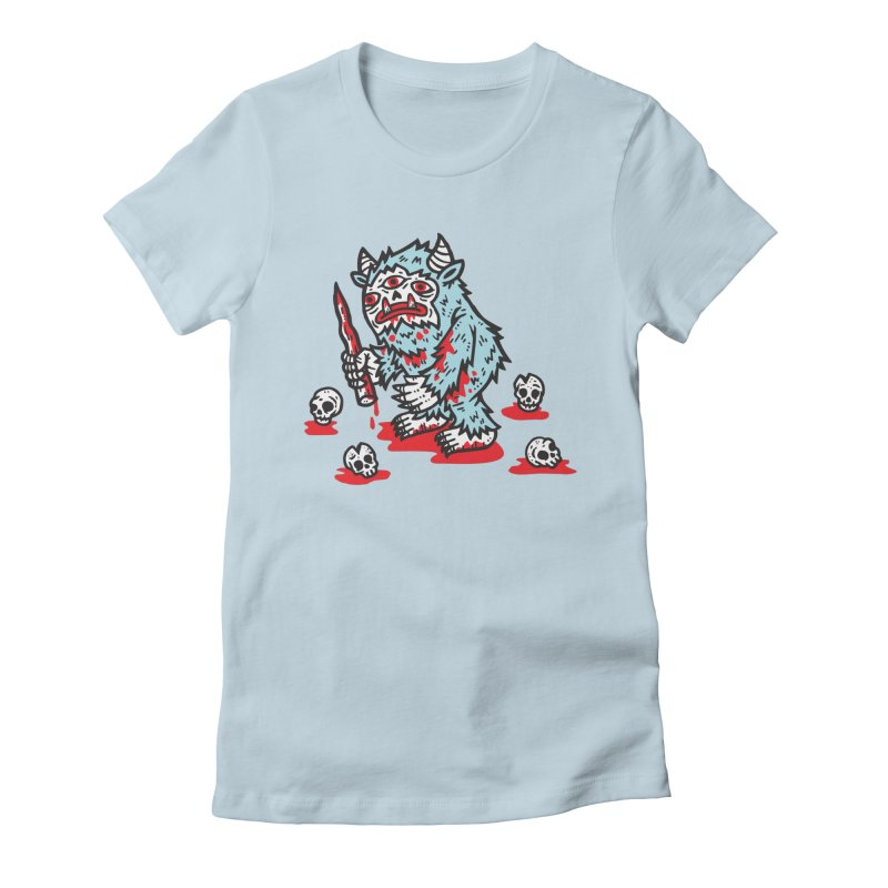 Get Ready For The Yeti Women's Fitted T-Shirt by msieben's Shop