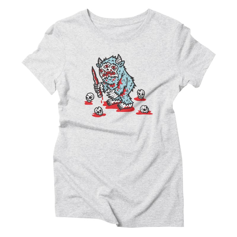 Get Ready For The Yeti Women's Triblend T-Shirt by msieben's Shop