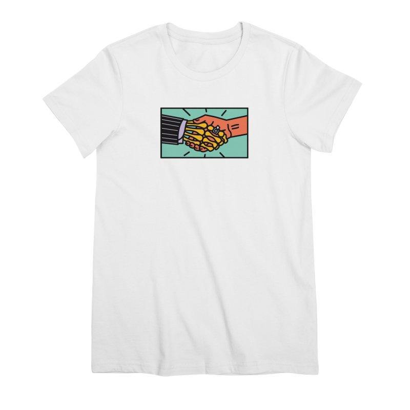 "DEAL - ""Best Buddies"" Women's Premium T-Shirt by MSTRMIND On-Demand"