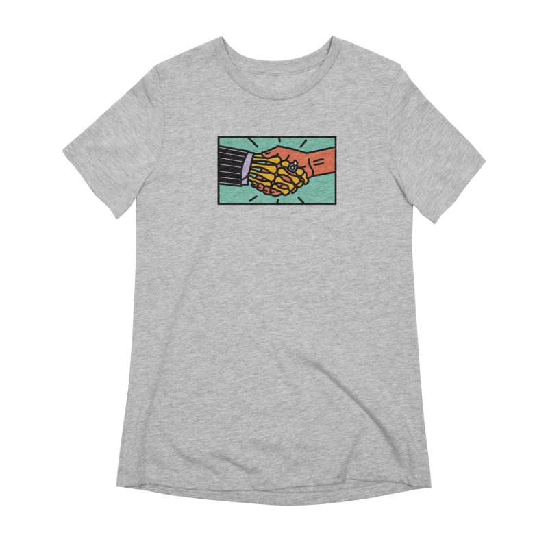 """DEAL - """"Best Buddies"""" Women's Extra Soft T-Shirt by MSTRMIND On-Demand"""