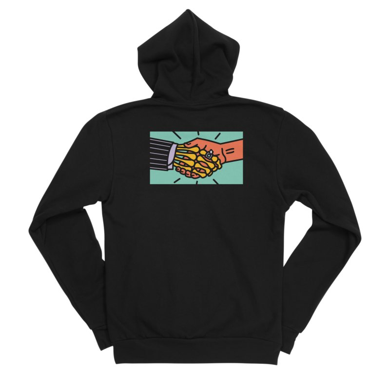 "DEAL - ""Best Buddies"" Men's Sponge Fleece Zip-Up Hoody by MSTRMIND On-Demand"