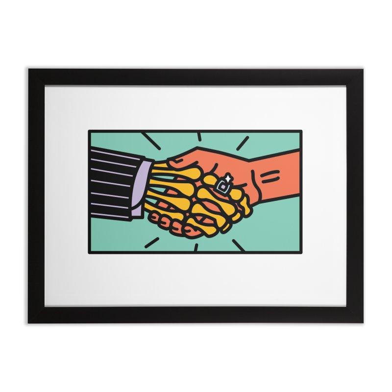 "DEAL - ""Best Buddies"" Home Framed Fine Art Print by MSTRMIND On-Demand"