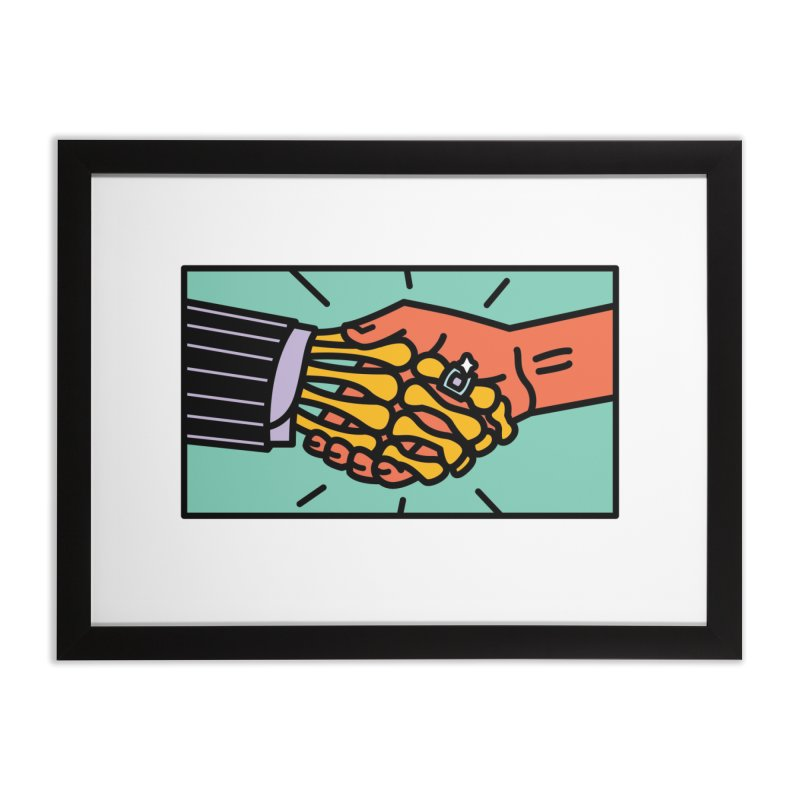 "DEAL - ""Best Buddies"" Home Framed Fine Art Print by MSTRMIND On-Demand"