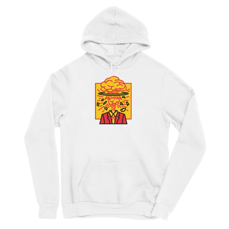 "M.A.D. - ""Exploding Head"" Women's Pullover Hoody by MSTRMIND On-Demand"