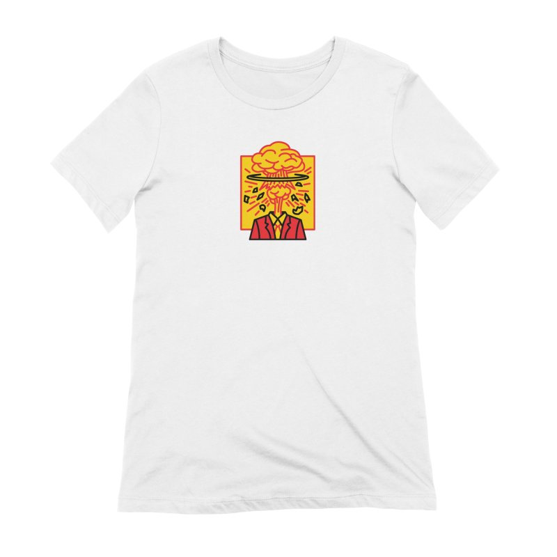 """M.A.D. - """"Exploding Head"""" Women's Extra Soft T-Shirt by MSTRMIND On-Demand"""