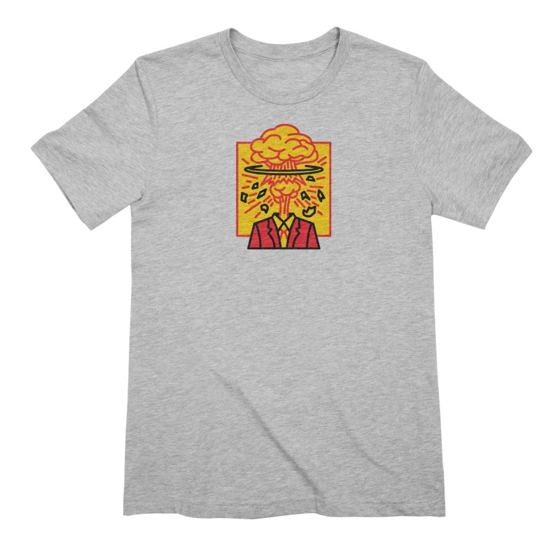 """M.A.D. - """"Exploding Head"""" Men's T-Shirt by MSTRMIND On-Demand"""
