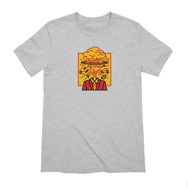 "M.A.D. - ""Exploding Head"" Men's Extra Soft T-Shirt by MSTRMIND On-Demand"