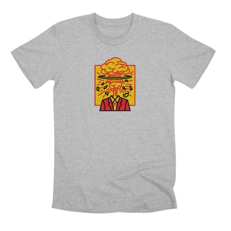 "M.A.D. - ""Exploding Head"" Men's Premium T-Shirt by MSTRMIND On-Demand"