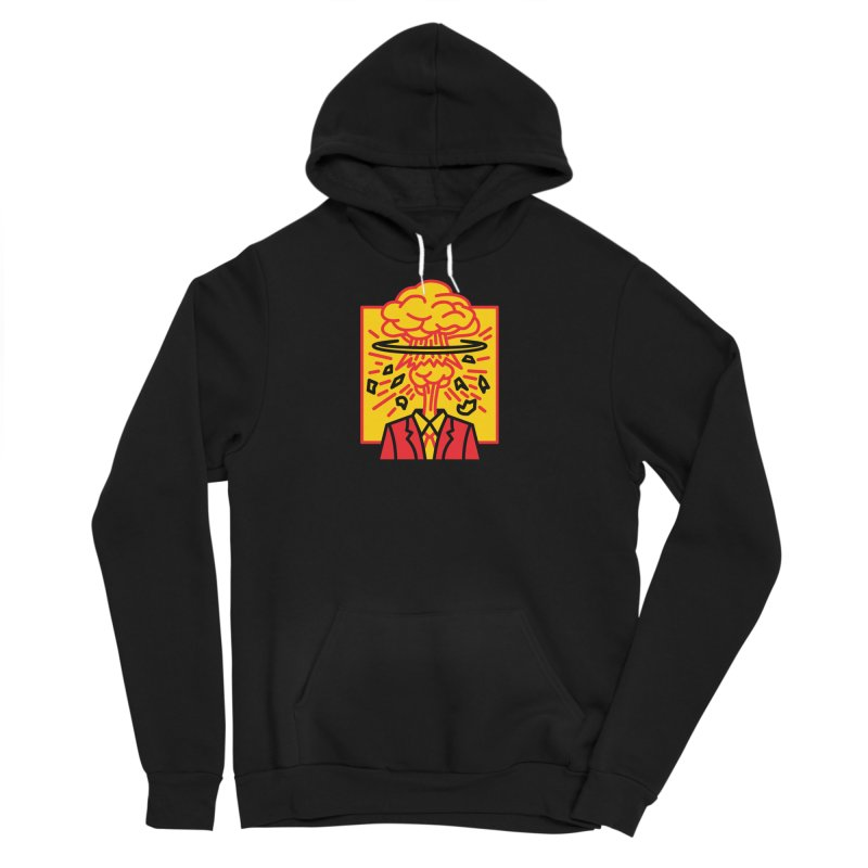 "M.A.D. - ""Exploding Head"" Men's Sponge Fleece Pullover Hoody by MSTRMIND On-Demand"