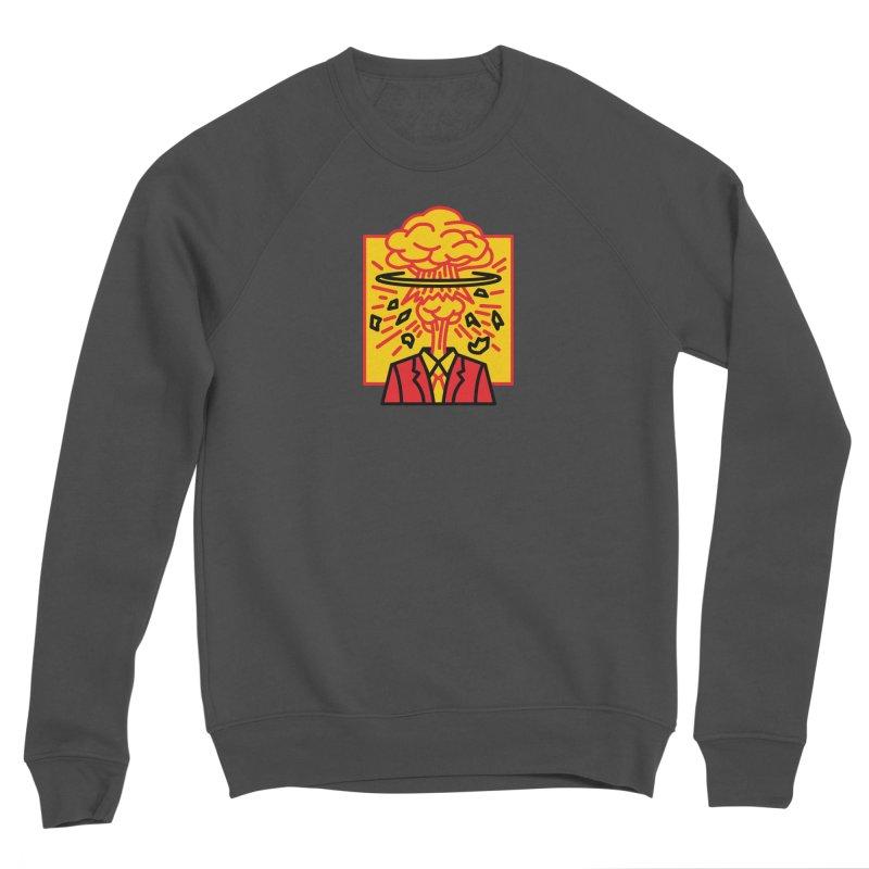 """M.A.D. - """"Exploding Head"""" Women's Sponge Fleece Sweatshirt by MSTRMIND On-Demand"""