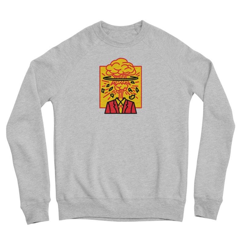 """M.A.D. - """"Exploding Head"""" Men's Sponge Fleece Sweatshirt by MSTRMIND On-Demand"""