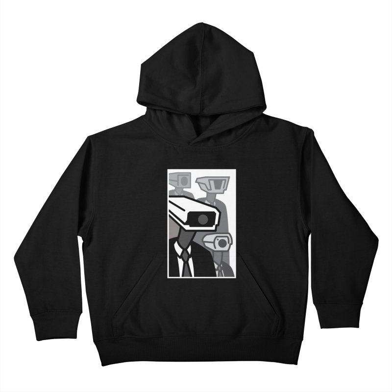 U.S.A. (Black Friday) Kids Pullover Hoody by MSTRMIND On-Demand
