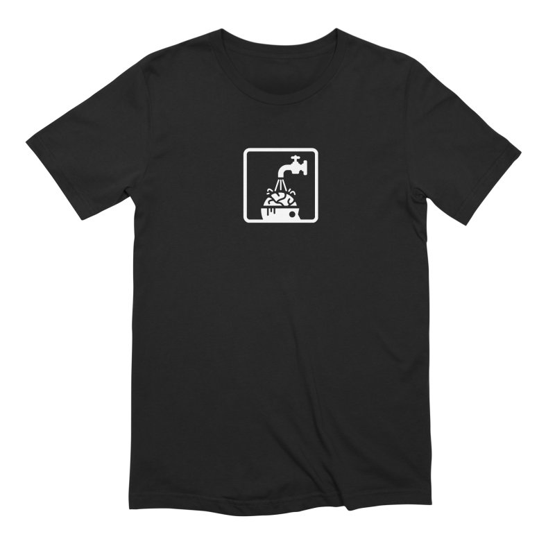 BRAINWASH (Black Friday) Men's Extra Soft T-Shirt by MSTRMIND On-Demand