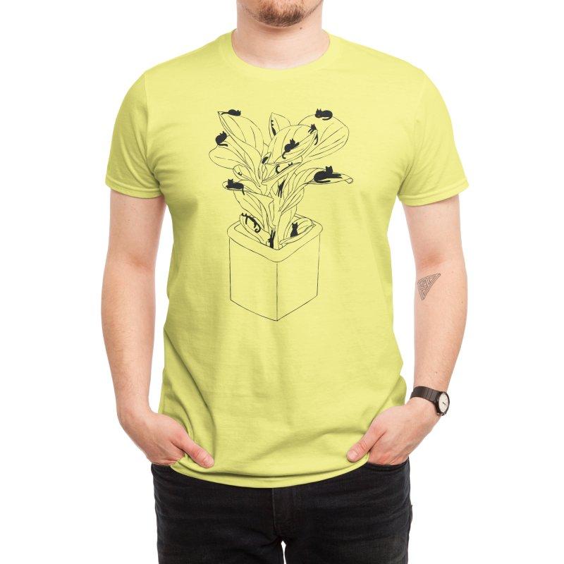 Cat Tree Men's T-Shirt by Michael's Shop