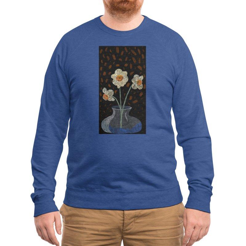 Daffodils Men's Sweatshirt by Michael's Shop