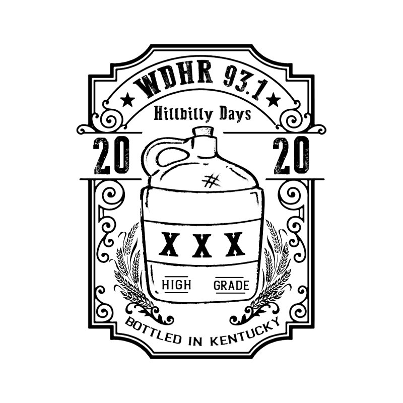 WDHR Hillbilly Days 2020 Men's T-Shirt by mtmshirts's Artist Shop