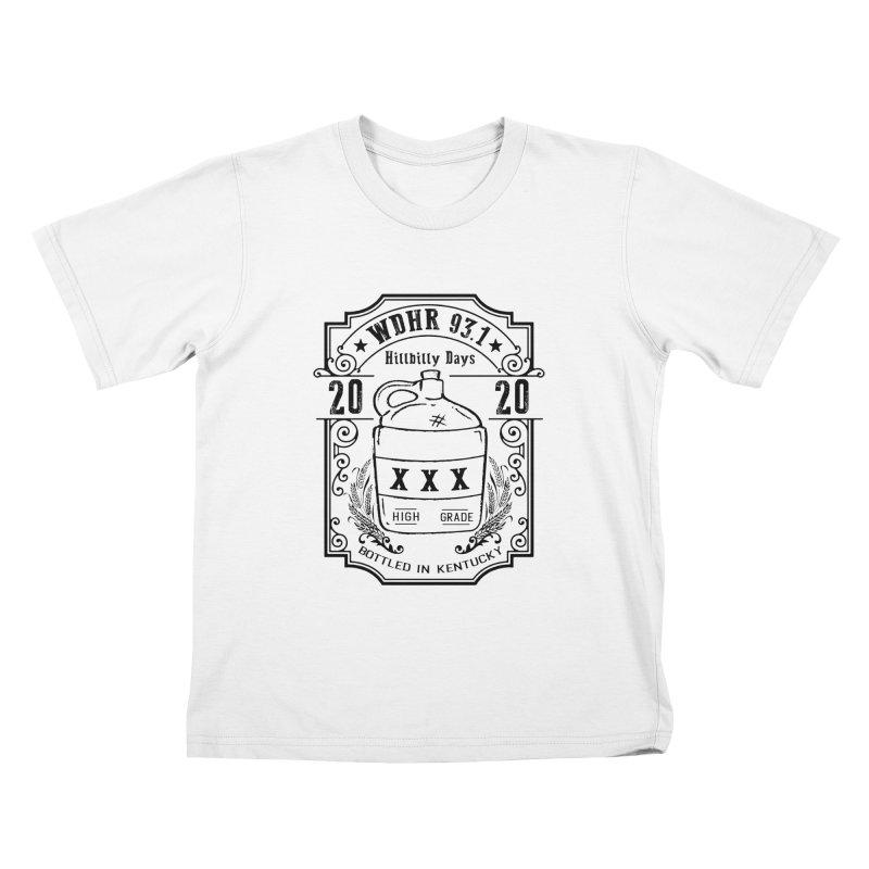 WDHR Hillbilly Days 2020 Kids T-Shirt by mtmshirts's Artist Shop