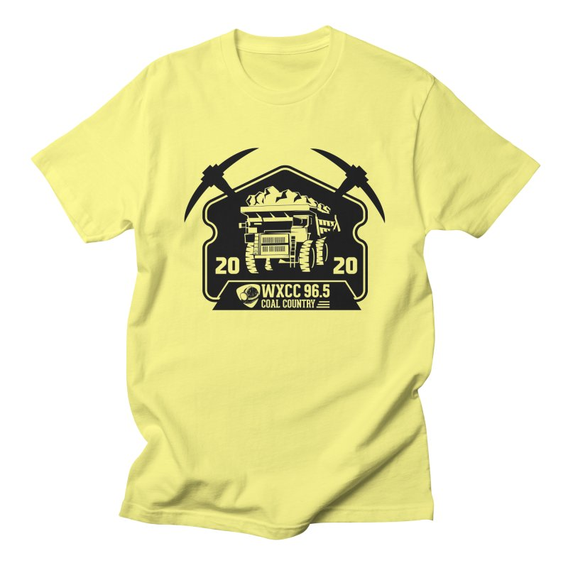 WXCC Coal Country Men's T-Shirt by mtmshirts's Artist Shop