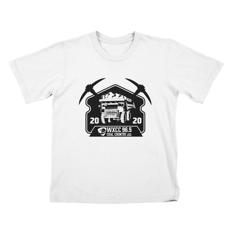 WXCC Coal Country Kids T-Shirt by mtmshirts's Artist Shop