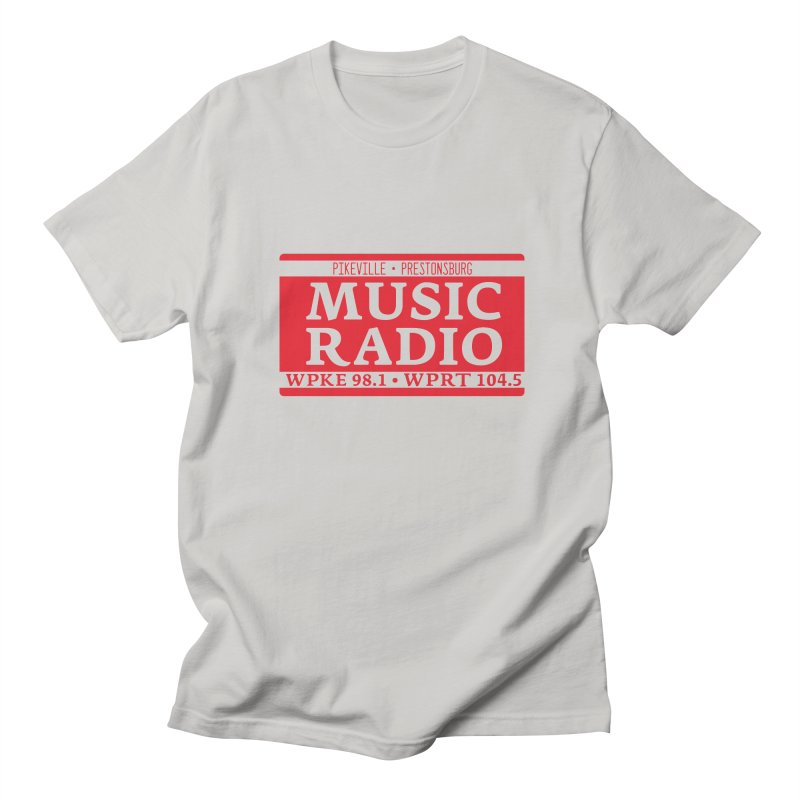 WPKE Music Radio Men's T-Shirt by mtmshirts's Artist Shop
