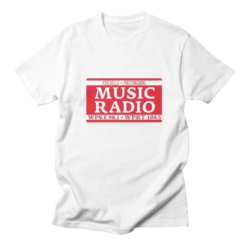 WPKE Music Radio Men's T-Shirt by mtmshirts's Artist Shop