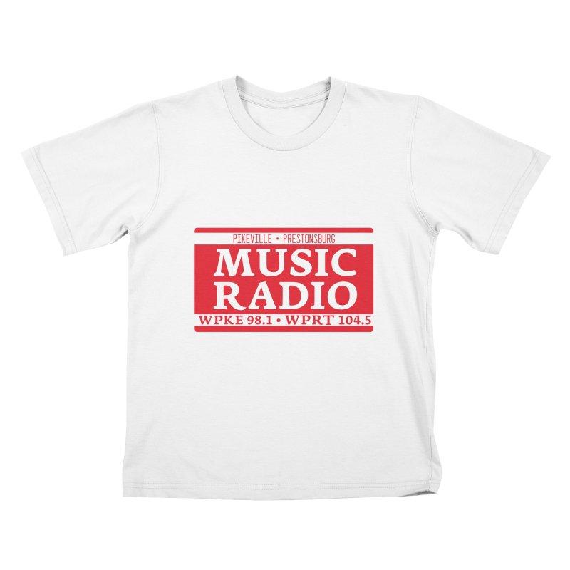 WPKE Music Radio Kids T-Shirt by mtmshirts's Artist Shop