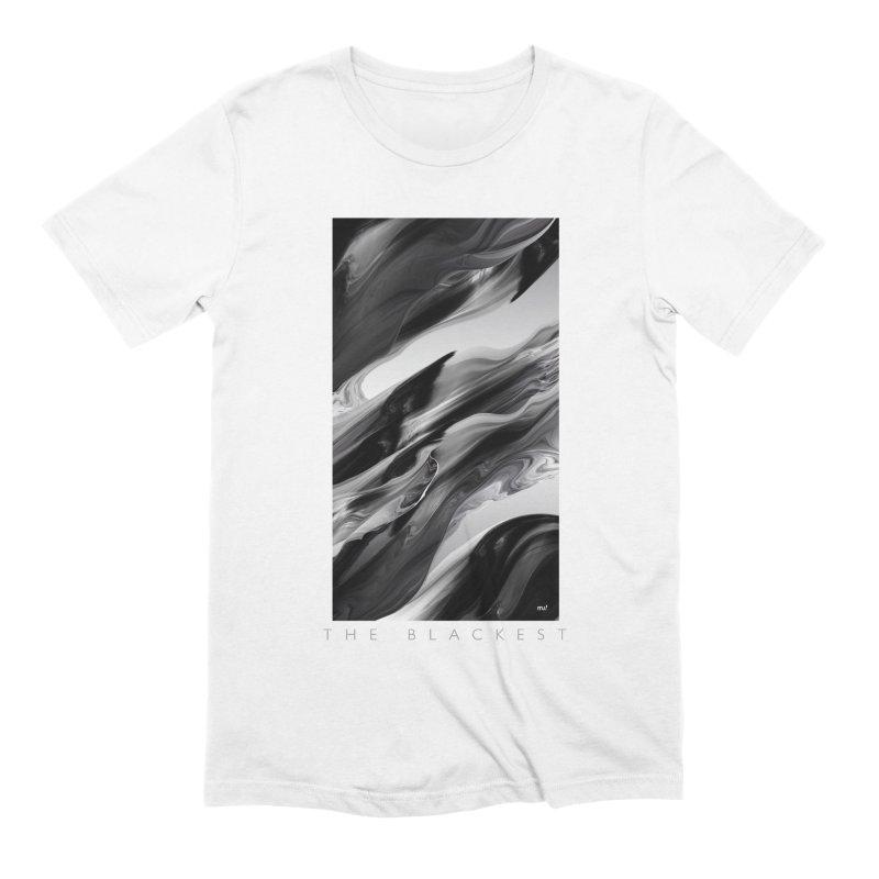 THE BLACKEST Men's T-Shirt by mu's Artist Shop