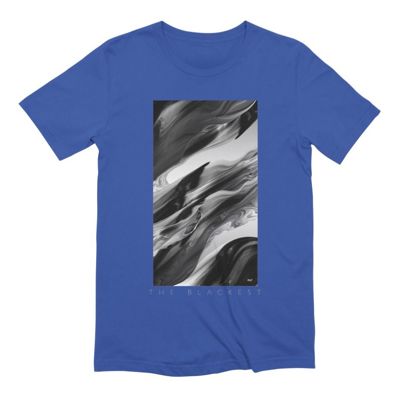 THE BLACKEST Men's Extra Soft T-Shirt by mu's Artist Shop