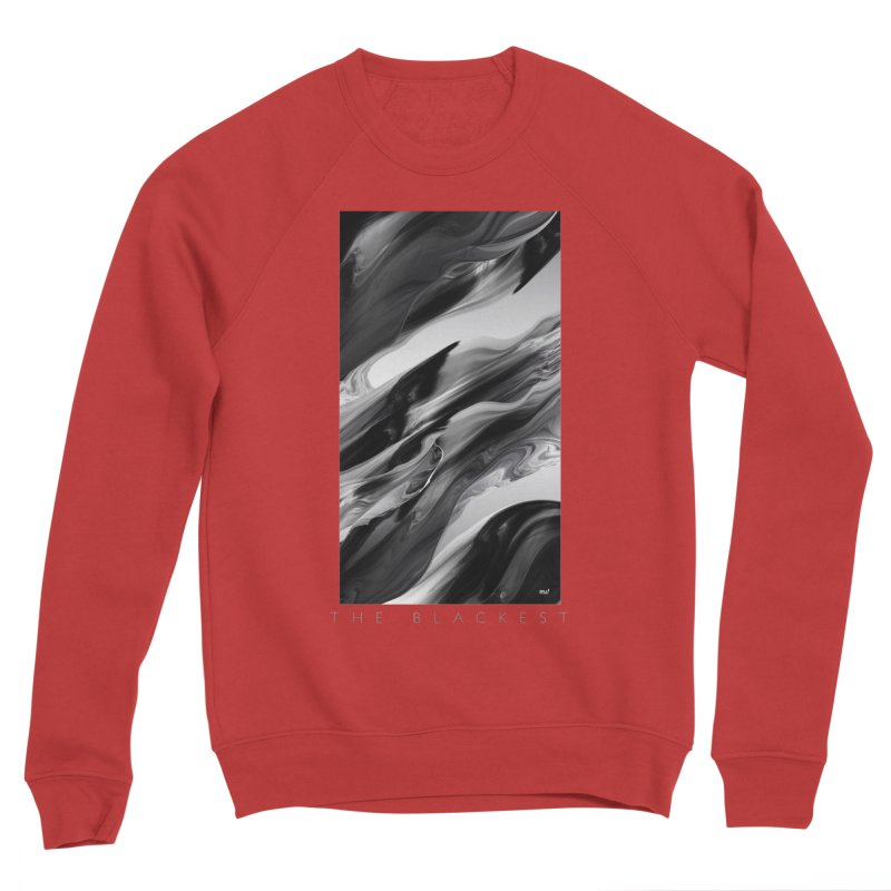THE BLACKEST Men's Sponge Fleece Sweatshirt by mu's Artist Shop