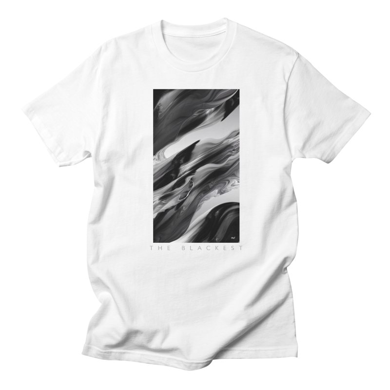 THE BLACKEST Men's T-Shirt by mu's Artist Shop