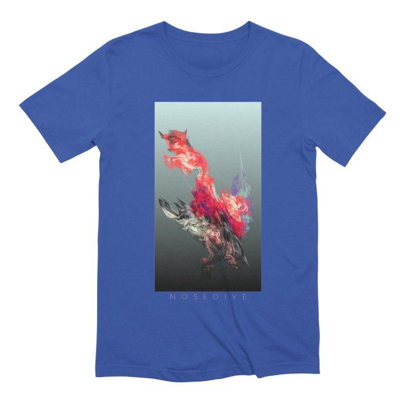 NOSEDIVE Men's Extra Soft T-Shirt by mu's Artist Shop