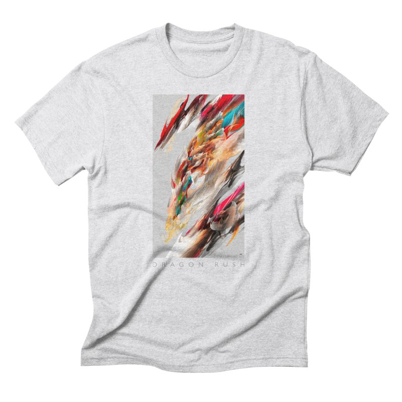DRAGON RUSH Men's T-Shirt by mu's Artist Shop