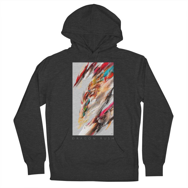 DRAGON RUSH Men's Pullover Hoody by mu's Artist Shop