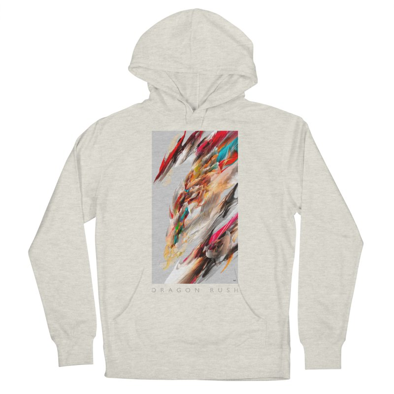 DRAGON RUSH Men's Pullover Hoody by mu's Artist Shop