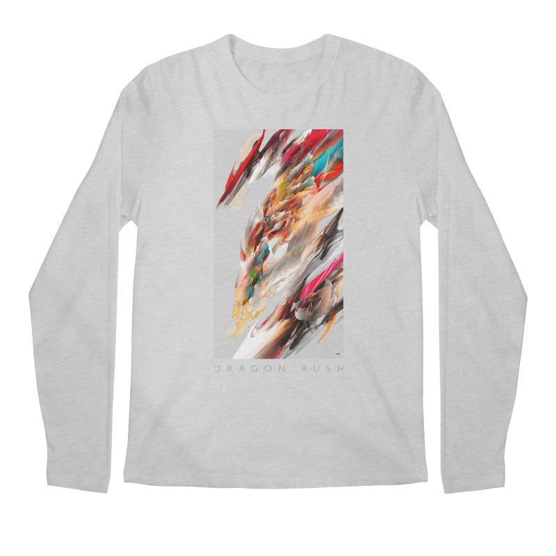 DRAGON RUSH Men's Longsleeve T-Shirt by mu's Artist Shop