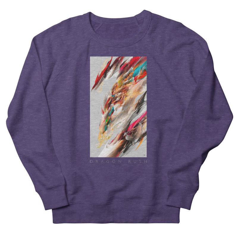 DRAGON RUSH Women's Sweatshirt by mu's Artist Shop